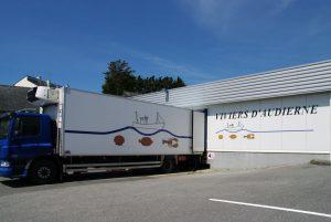 Transports produits des Viviers d'Audierne